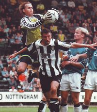 notts county away 1998 to 99 action