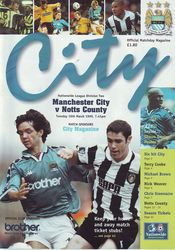 notts county home 1998 to 99 prog