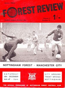 notts forest away 1968 to 69