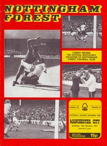 notts forest away 1977 to 78 prog