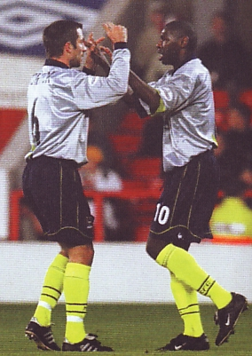 notts forest away 2001 to 02 goater goal celeb