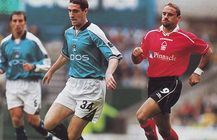 notts forest home 1999 to 00 action