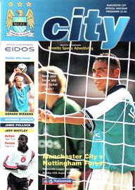 notts forest home 1999 to 00 prog