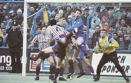 oldham away 1988 to 89 action