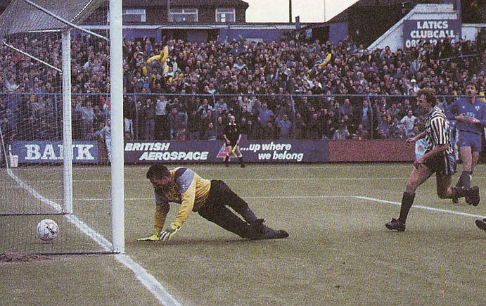 oldham away 1988 to 89 megson goal
