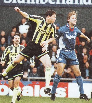 oldham away 1998 to 99 action
