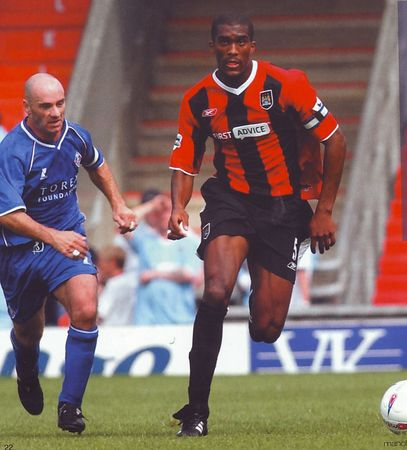 oldham away 2003 to 04 action
