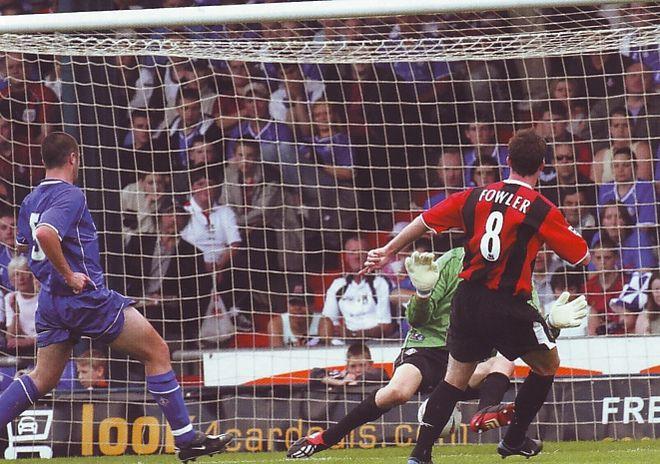oldham away 2003 to 04 fowler goal