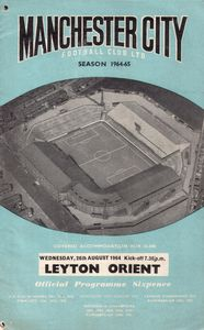 orient home 1964-65 programme