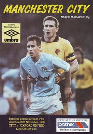 oxford home 1988 to 89 prog