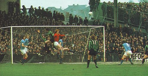 plymouth away lge cup 1973 to 74 action