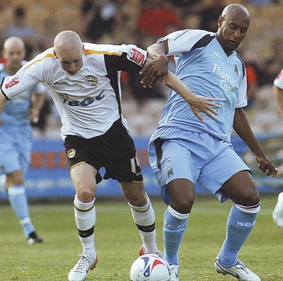 port vale away friendly 2006 to 07 action