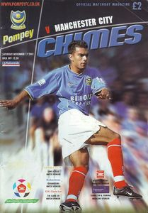 portsmouth away 2001 to 02 prog