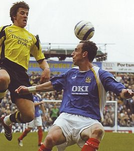 portsmouth away 2005-06 action 2