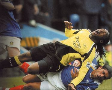 portsmouth away 2005-06
