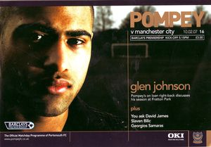 portsmouth away 2006 to 07 prog