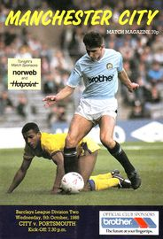 portsmouth home 1988 to 89 prog