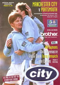 portsmouth home 1996 to 97 prog