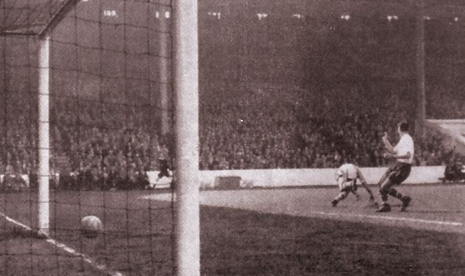 preston home 1959-60 barlow goal