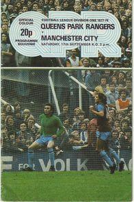 qpr away 1977 to 78 prog