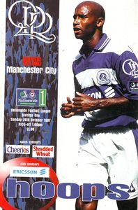 qpr away 1997 to 98 prog