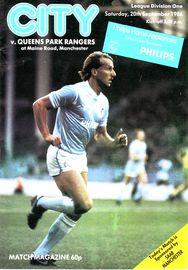 qpr home 1986 to 87 prog