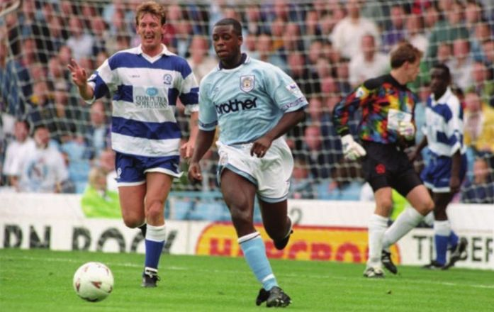 qpr home 1993 to 94 action