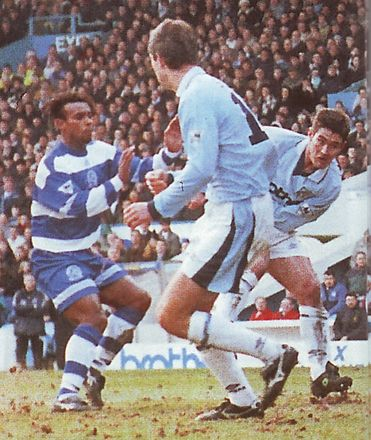 qpr home 1995 to 96 clough goal