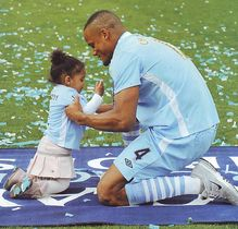 qpr home 2011 to 12 kompany and daughter
