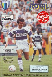 reading away cola cup 1993 to 94 prog