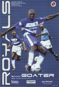 reading away friendly 2004 to 05 prog
