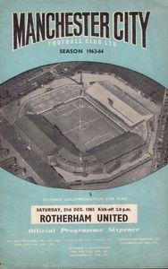 rotherham 1963-64 programme