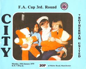 rotherham fa cup home 1978 to 79 prog