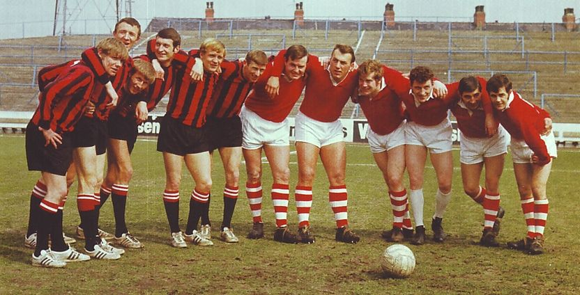 salford rl team prior to fa cup april 1968 to 69