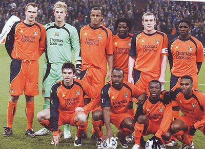 schalke v manchester city uefa cup group match 2008 09 city til i die. Black Bedroom Furniture Sets. Home Design Ideas