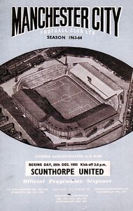 scunthorpe home 1963 to 64 prog