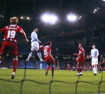 scunthorpe league cup 2009 to 10 lescott goal