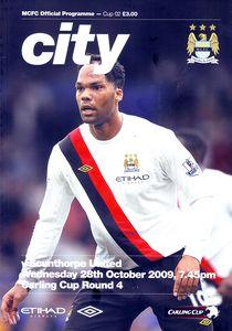 scunthorpe league cup 2009 to 10 prog