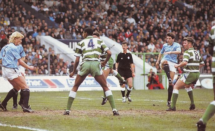 sheff weds home 1989 to 90 action