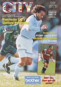 sheff weds home 1994 to 95 prog