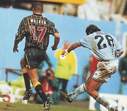 sheff weds home 1994 to 95 rosler 2nd goal