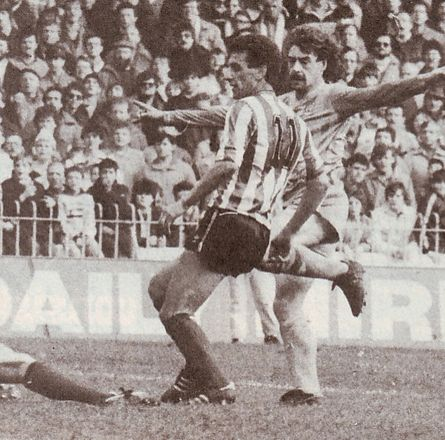 sheffield united home 1984 to 85 clements 2nd city goal
