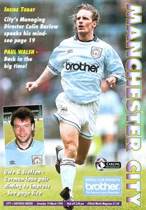 sheffield united home 1993 to 94 prog