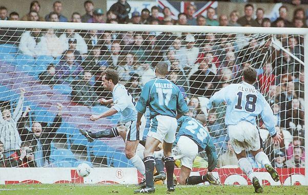 wednesday home 1995 to 96 rosler goal