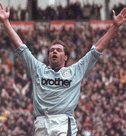 wednesday home 1995 to 96 rosler goal2