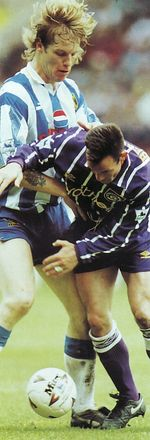 sheffield weds away 1993 to 94 action