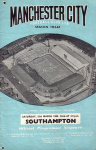 southampton 1963-64 programme