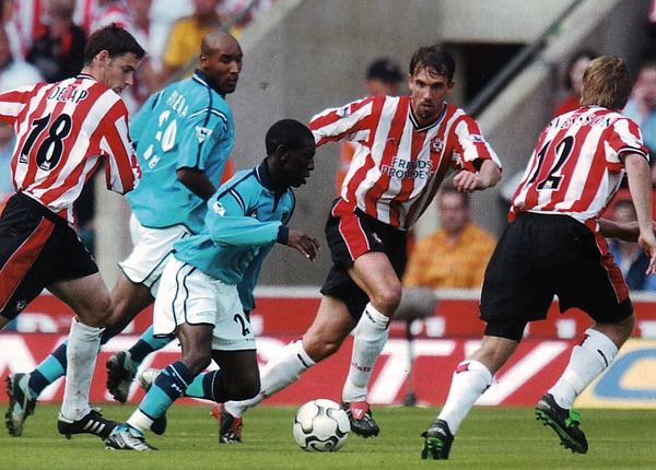 southampton away 2002 to 03 action