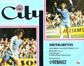 southampton home 1979 to 80 prog