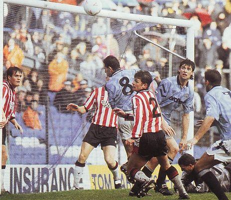 southampton home 1992 to 93 action